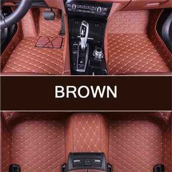 Custom car floor Foot mat For PEUGEOT 206 CC 207 CC 307 SW 308 CC 308GT 308SW 407 408 508SW 607 3008 car accessories styling image