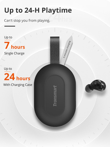 Image 5 - Tronsmart Spunky Beat Bluetooth TWS Earphone APTX Wireless Earbuds with QualcommChip, CVC 8.0, Touch Control