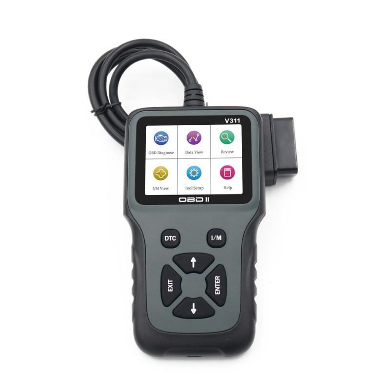 Motorcycle Car Accessories OBD2 Scanner Color Screen Automobile Fault Detector 8~36V Car Repair Tool Auto Car Diagnostic Tool