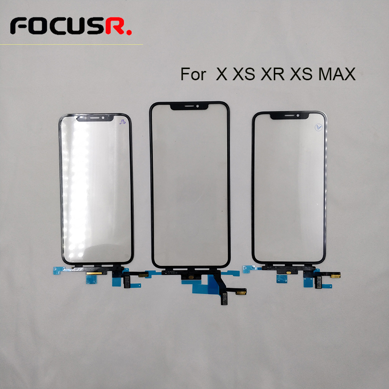 Original Touch Screen Digitizer For IPhone X/XR/XS/XS Max  LCD Screen Outer Glass With Touch Panel Replacement Repair Parts