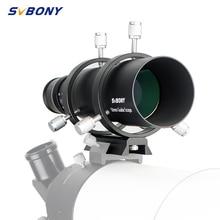 Svbony 50ミリメートルガイドスコープファインダーccdイメージガイドスコープw/ブラケット1.25 ダブルヘリカル接眼天文学単眼telesc