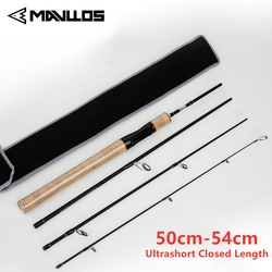 Mavllos 4 Section Portable Spinning Fishing Rod 1.8m 1.99m Length Fast Action Bass Pike Long Casting Surf Fishing Spinning Rod