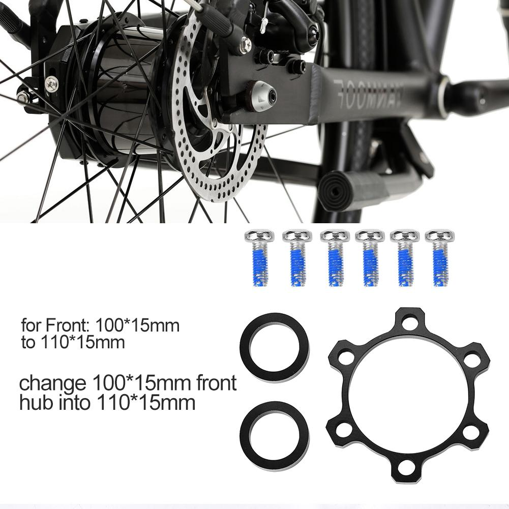 2020 New Alloy Cycling Bike Bicycle Boost Hubs 100 To 110mm/142 To 148mm Conversion Rear Front Hub Adapter Conversion