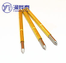 YYT 10PCS Test needle P125-B straight-up pointed 2.0mm test needle, probe, thimble, pogo pin