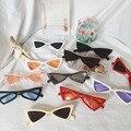 Женские Винтажные Солнцезащитные очки кошачий глаз, брендовые дизайнерские солнцезащитные очки в ретро-стиле, женские очки с бабочками, но...