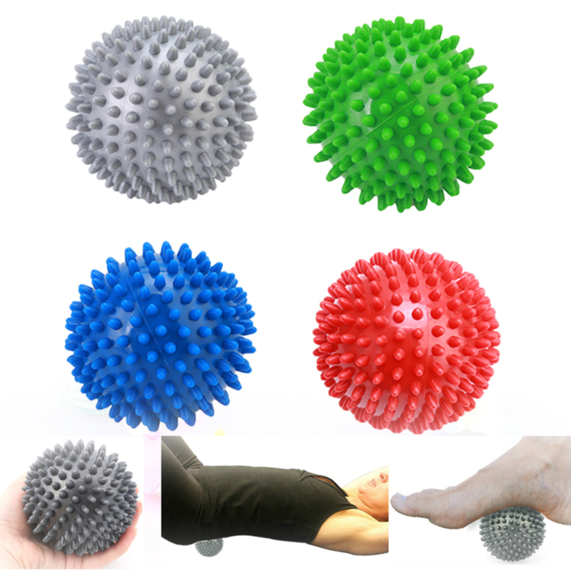 PVC Hand Massage Ball Hedgehog Sensory Training Grip The Ball Portable Physiotherapy Health Care Gym Muscle Relex Apparatus