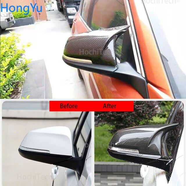 For BMW i3 i3S series 2014-2018 Mirror cap M3 M4 exterior mirror carbon fiber mirror mask 2