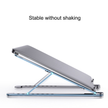 Cooling Rack Folding Adjustable Angle Aluminum Alloy Desktop Portable Holder Office Universal Non Slip Laptop Stand