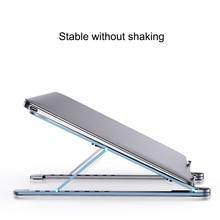 Cooling Rack Folding Adjustable Angle Aluminum Alloy Desktop Portable Holder Office Universal Non Slip Laptop Stand
