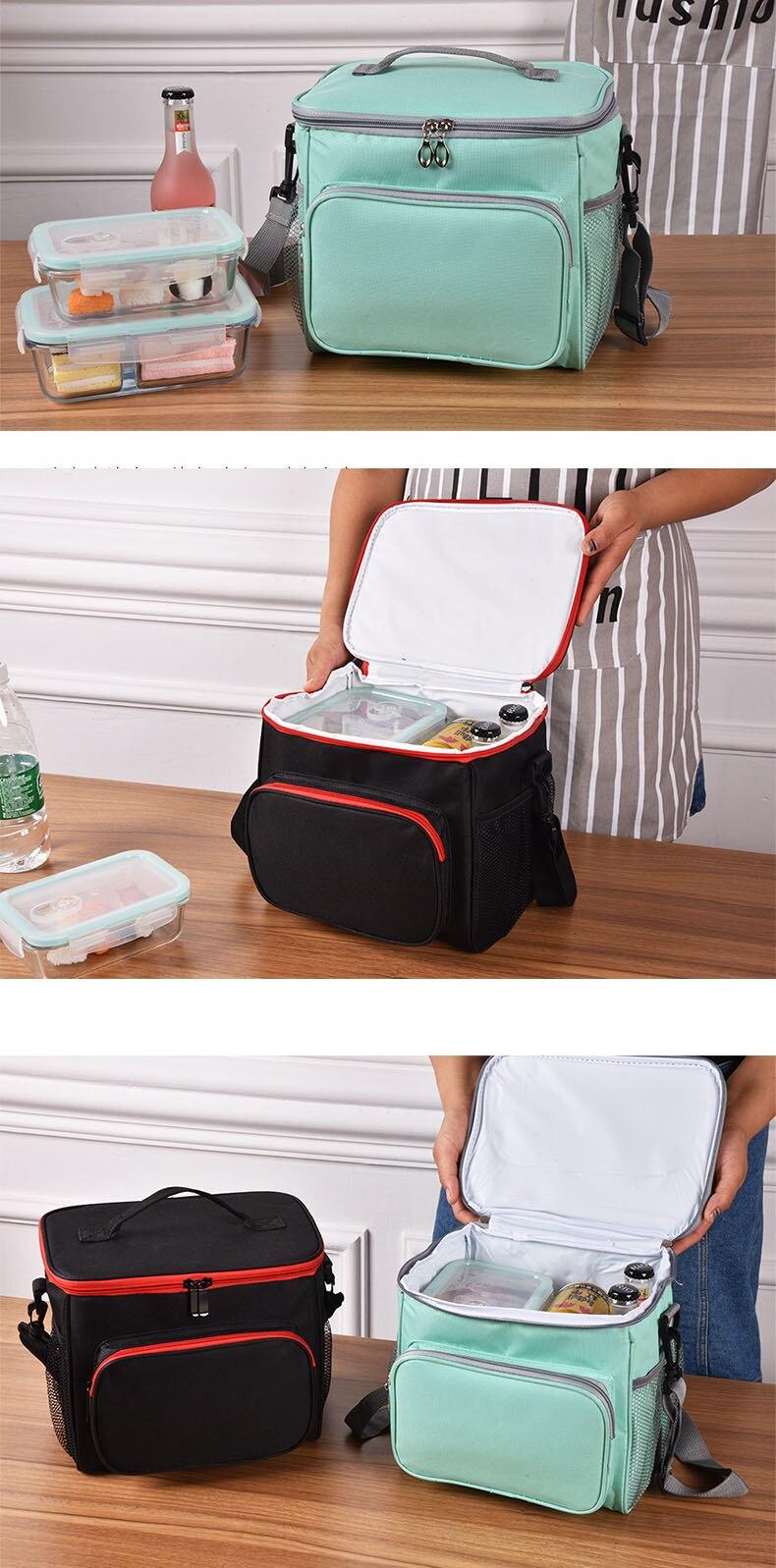 cooler lancheira alimentos refrigerador sacos de piquenique