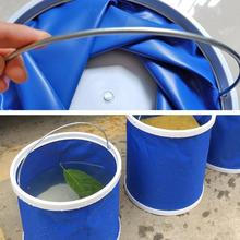 Pet Bathing Bucket Foldable Children's Toy Storage Box Outdoor Fishing Camping Bucket Multifunctional Foldable Bucket fishing box eva customization easy to clean box customized baiting bucket thickening fishing bucket waterproof case