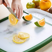 Multi functional Plate/Meat Cutting Mats Anti Slip Kitchen Cutting Board Tools for Home Kitchen Cooking Tools Supplies