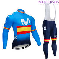 2020 Winter BIG M Thermal Fleece Cycling JERSEY Bike Pants Set Mens 9D Pads Ropa Ciclismo Cycling Wear Maillot Culotte Clothing