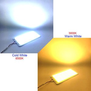 Image 4 - 220x113mm 200W LED Panel Light COB Board with Dimmer DIY Home Outdoor Lighting 12V 110V 220V Dimmable Remote Control LED Lamp