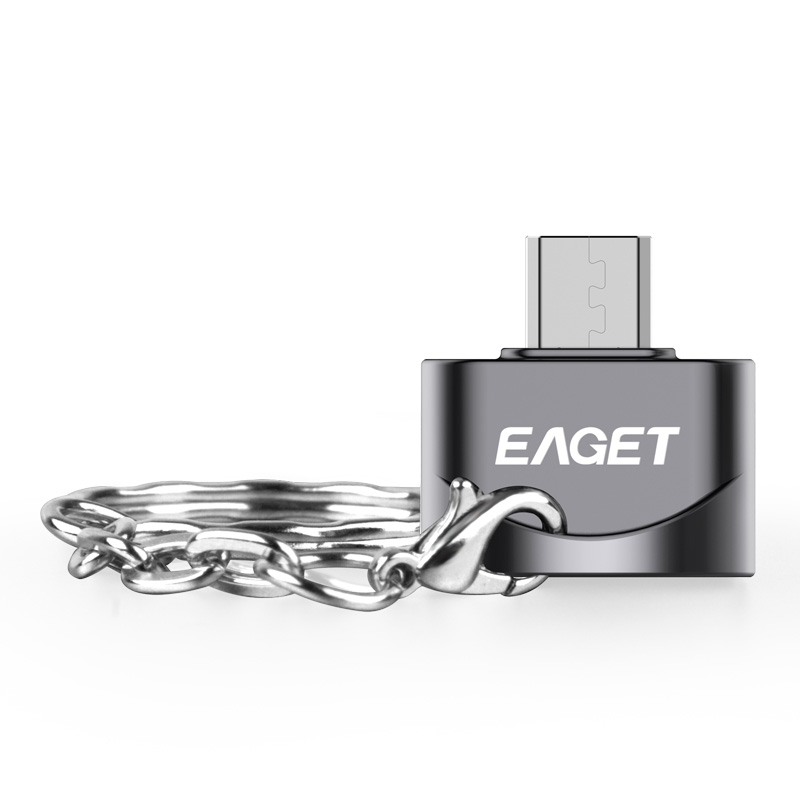 EAGET EZ02-M Interface Micro Adapter OTG Function Turn Into Phone USB Flash Drive Mobile Phone Adapters