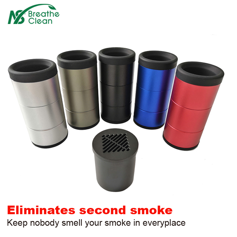 Eliminates Smoke Personal Air Filter Has Replacement Filter Cartridge HEPA And Carbon Filter H13