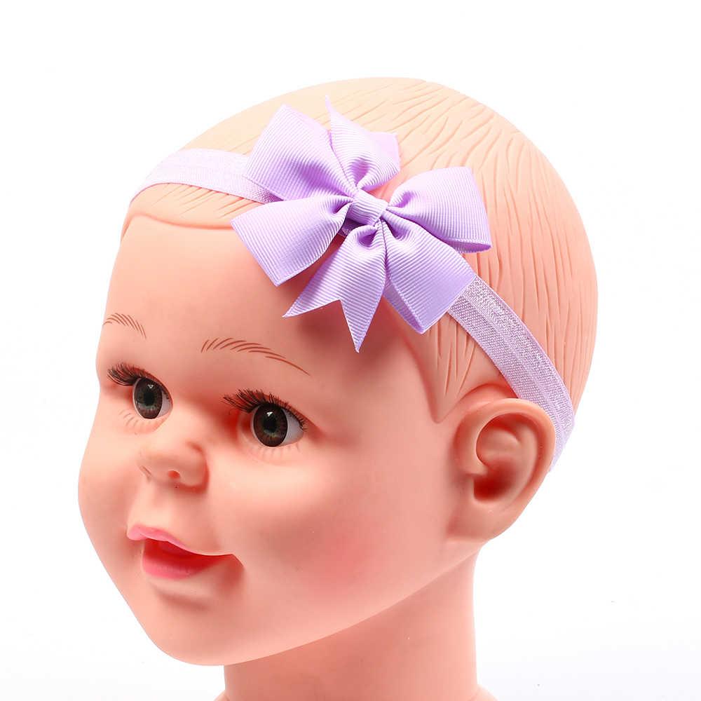 כיסוי הראש בייבי סרטי ראש בארה 'ב בנות קשת קשר גומייה לשיער תינוקות הראש יילוד פעוטות מתנה נזר שיער בגדי אביזרים