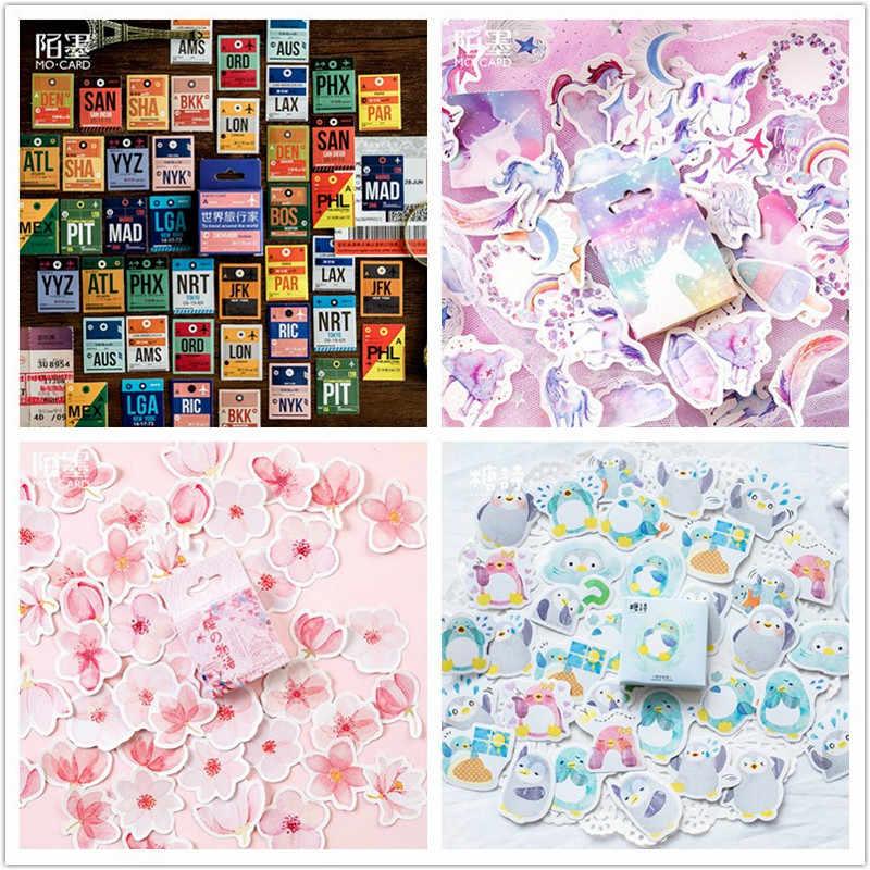 Adesivos encantadores embalados rosa, adesivos bonitos de papelão para scrapbooking, decoração vintage, diário, álbum