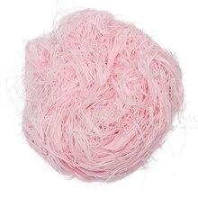 100 г Роскошная розовая измельченная корзина для салфеток бумажная Подарочная коробка для конфет упаковка