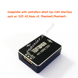 Image 3 - AN MINI OSD โมดูล DJI A2 NAZA V2 & Phantom สามารถพอร์ต 1 ถึง 3 HUB เปลี่ยน IOSD