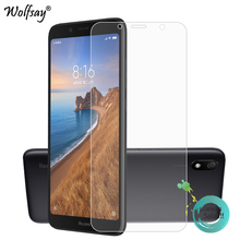 2PCS Glass For Xiaomi Redmi 7A Screen Protector Tempered Phone Film HD Film<
