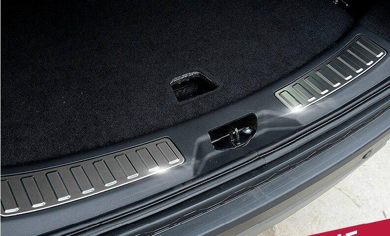 Задняя внутренняя грузовая дверь порога облицовочная панель для Дискавери Спорт 2014 2019