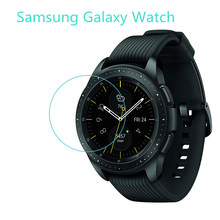 Kaca untuk Samsung Galaxy Watch 46 Mm Galaxy Watch 42 Mm Anti-Shock Smart Watch Film Pelindung Anti Gores(China)