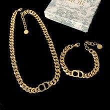 Punk grosso ouro exagerada letras retro colar gargantilha colar de aço inoxidável feminino colares de corrente para presente de jóias de menina