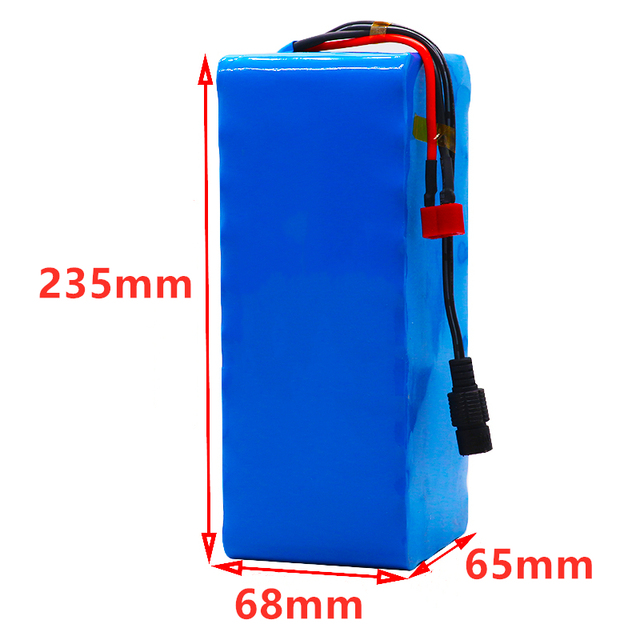 48v lithium ion battery 48v 58Ah 1000w 13S3P Lithium ion Battery Pack For 54.6v E-bike Electric bicycle Scooter with BMS+charger 5