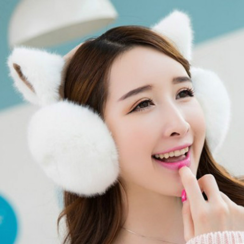 Cute Earmuff For Men And Women Ear Muffs Autumn Winter Earmuffs Outdoor Keep Warm Faux Fur Earmuffs Earflaps Fuzzy Ear Warmer
