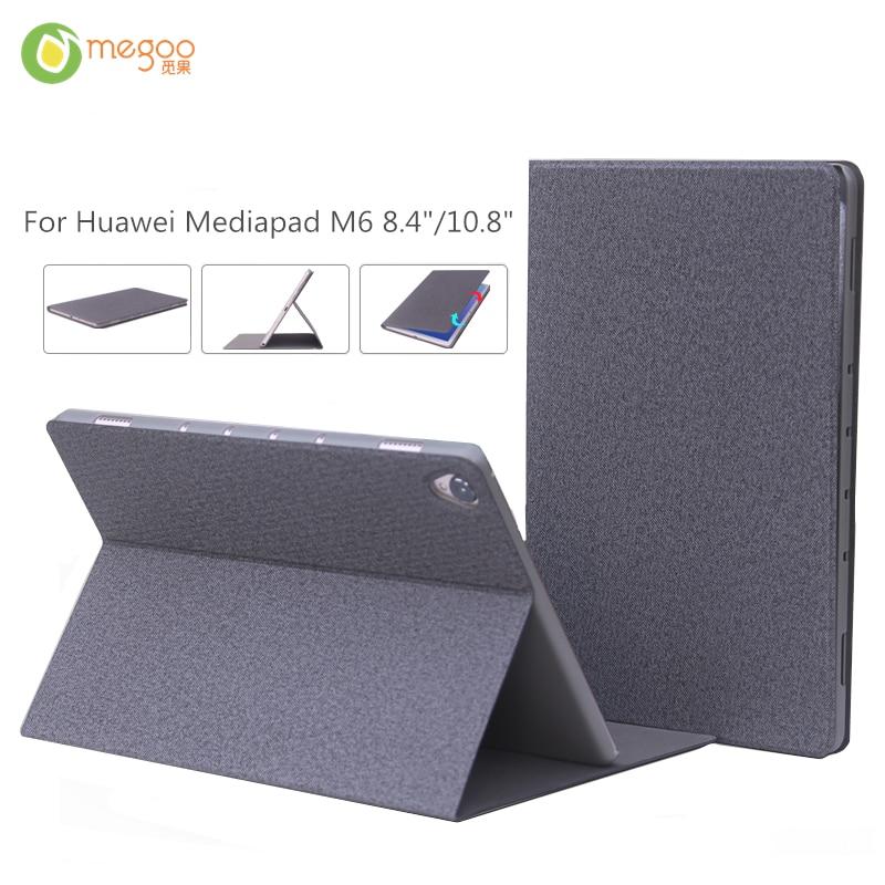 """Megoo Kasus Penutup Lengan Untuk Huawei Mediapad M6 8.4 """"/10.8"""" Folio Berdiri Kasus Untuk Huawei Mediapad M6 8.4 inch 10.8 inch"""