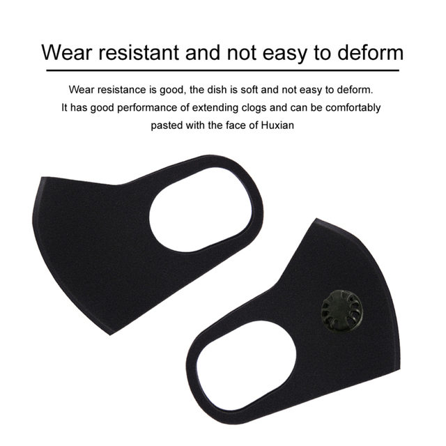 Tcare Anti Haze PM2.5 mouth Mask anti dust mask Activated carbon filter Mouth-muffle bacteria proof Flu Face mask Health Care 2