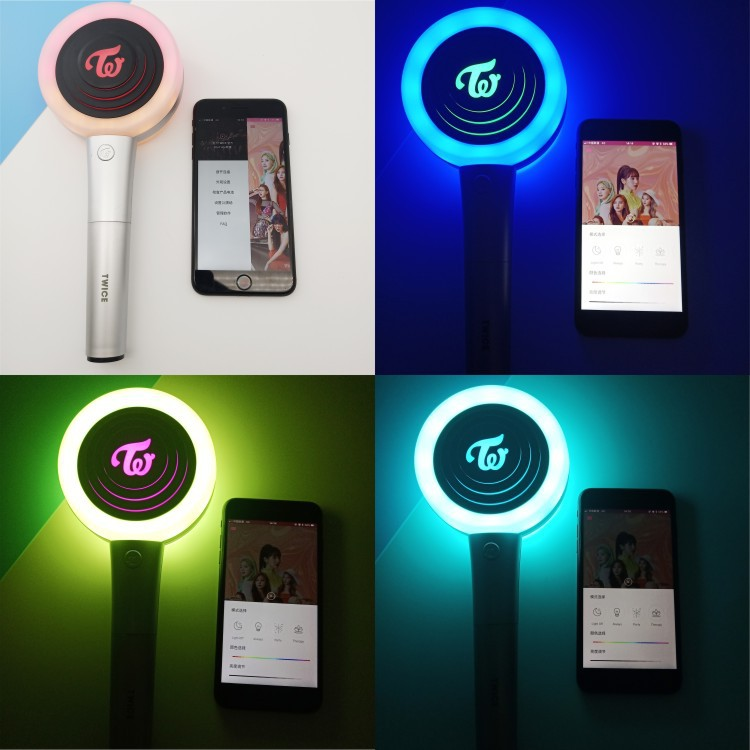 Twice Second Generation Aid Light Lightstick Ver 2 Candy Bong Z Concert  Light Stick Glow Lamp Momo