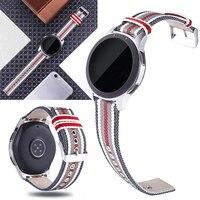 Nylonowy pasek do zegarka sportowego 20mm 22mm uniwersalny pasek do zegarków szybki pasek na rękę do SUUNTO 3 pas fitness do aktywnego paska Garmin w Inteligentne akcesoria od Elektronika użytkowa na