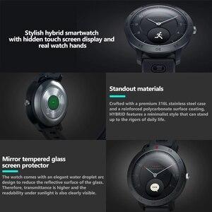 Image 3 - Zeblaze היברידי חכם שעון קצב לב צג לחץ דם מזג אוויר ספורט כושר Tracker הכפול מצבי Smartwatch גברים