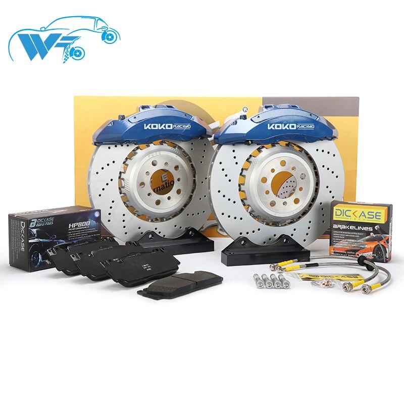 KOKO RACING couvercle frein concepteur MP6 étriers de frein 6 piston 21 pouces roue avant 400*36mm disque percé pour bmw x5 e70