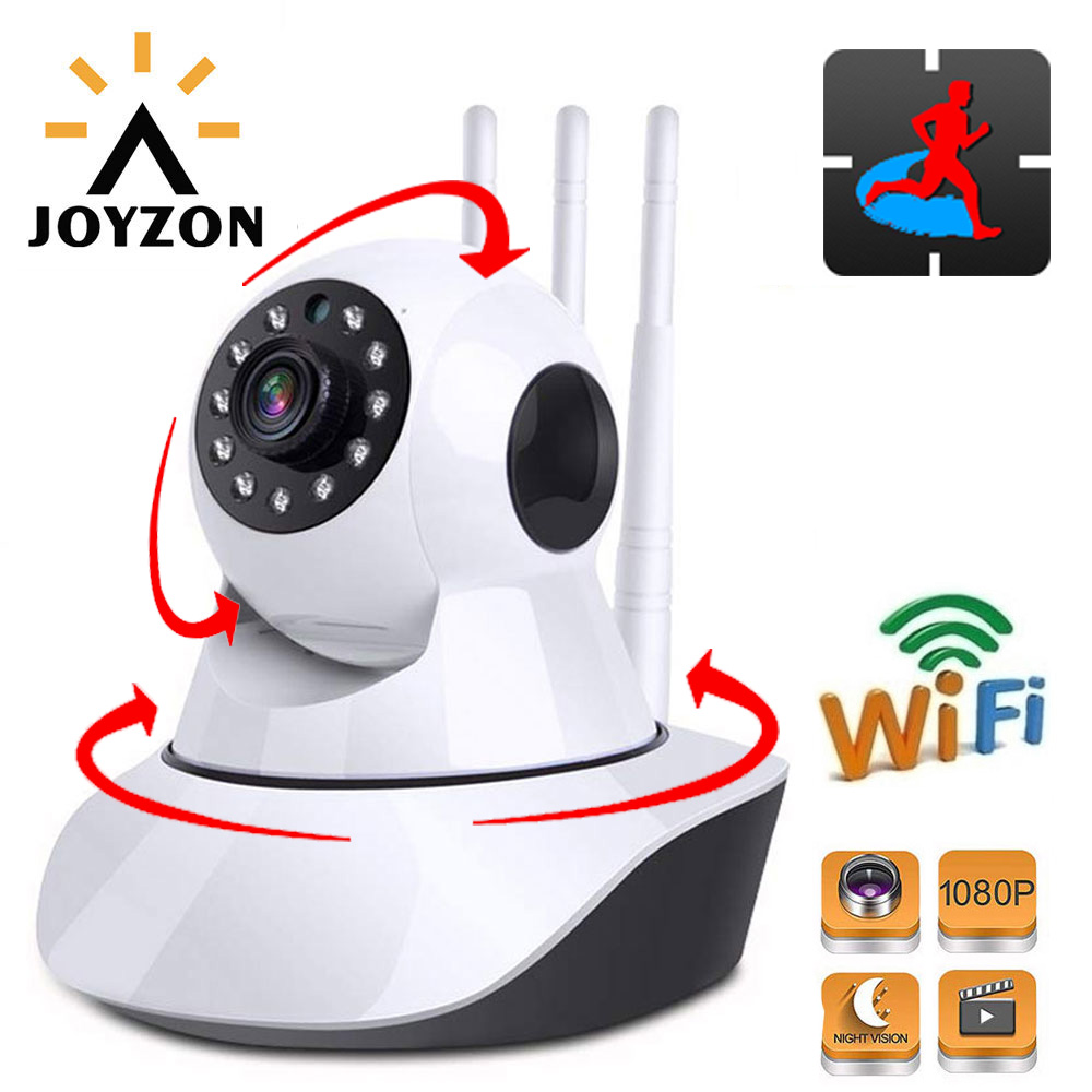 HD 1080P IP Camera Wireless Baby Monitor 2MP WiFi Dome Night Vision Auto Tracking Home Security Surveillance CCTV Pet Indoor Cam
