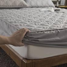 Drap-housse pour matelas, perméabilité de l'air, anti-bactérien, couvre-lit épais, matelassé, queen et king size
