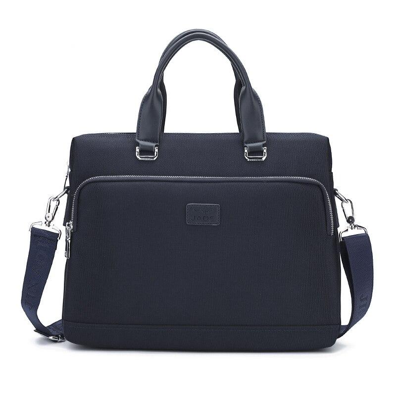 New Fashion Briefcase Oxford Water Proof Men's Handbag Causal Shoulder Cross Body Bag Male Laptop Message Bag Travel Bag