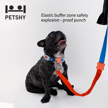 Petshy Dog Collars Leather Personalized Pet Collar Leash Lead For Small Medium Large Dogs Pitbull Bulldog Pugs Beagle