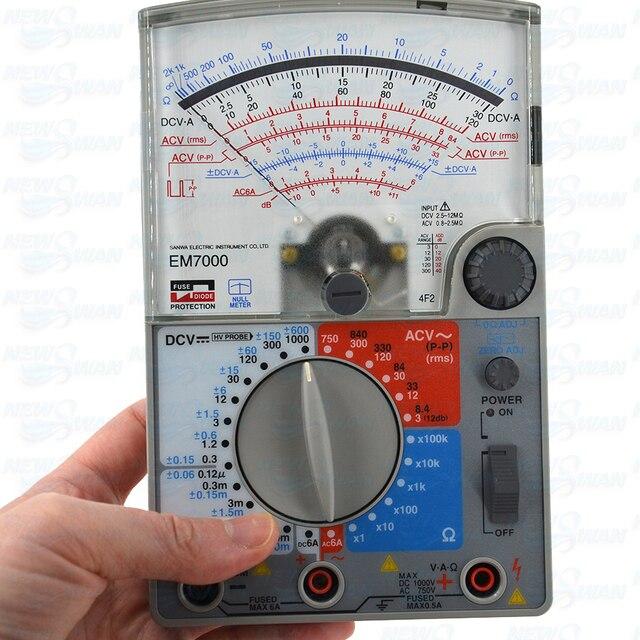 EM7000 Analoge Multitesters/Fet Tester Hoge Gevoeligheid Voor Meting Van Lagere Capaciteit Elektrische