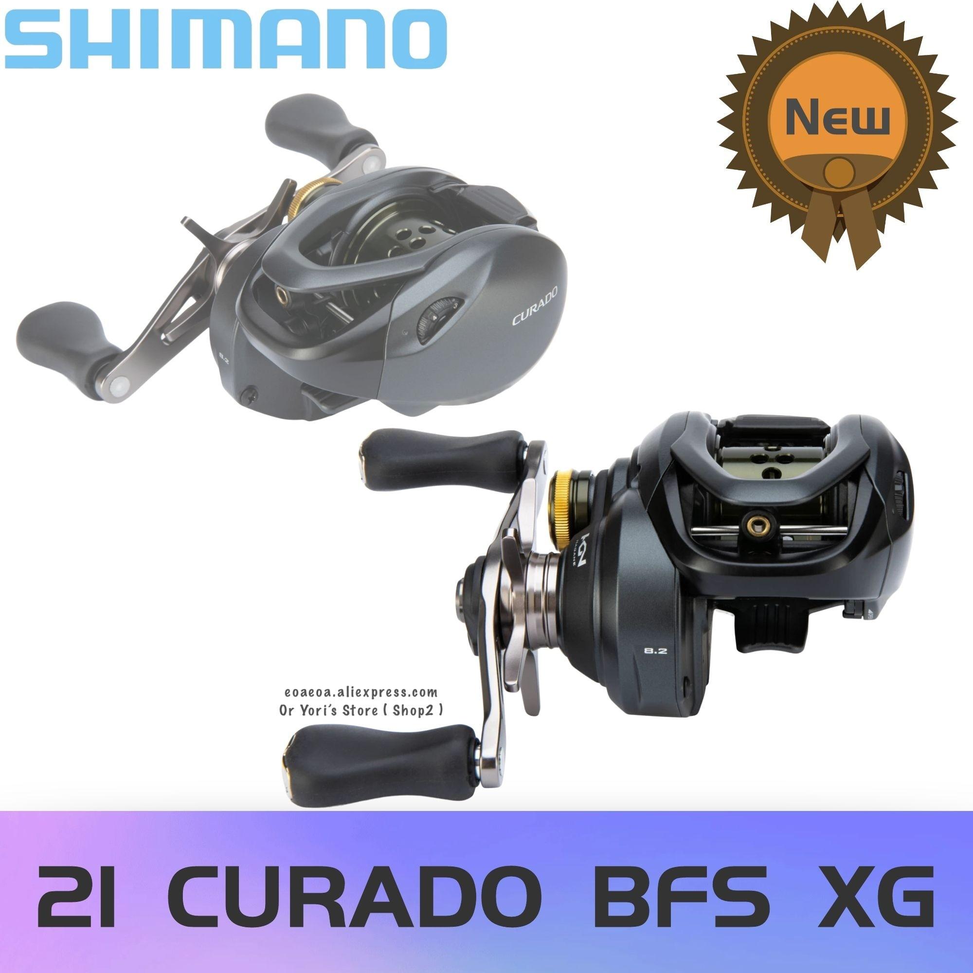 2021 Shimano Curado BFS XG 8:2:1, максимальное усилие фрикциона 3,5 кг, 175 г, 7BB + 1RB приманка, катушка для заброса, японская оригинальная Рыболовная Снасть