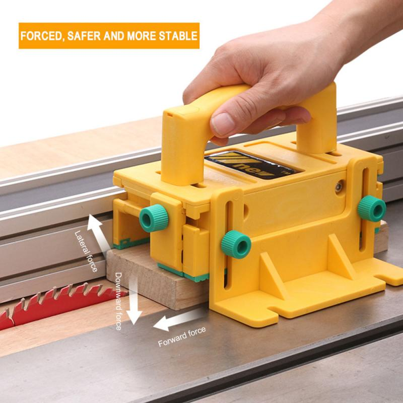 3D Safety Putter Woodworking Safety Assistant Tool Flip Table Saw Milling Planer Saw Pusher Safety Feeder Assistant Tool