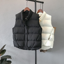 Vest Tops Gilet Coat Sleeveless Black-Color Chic Autumn Women High-Quality Chaleco Feminino