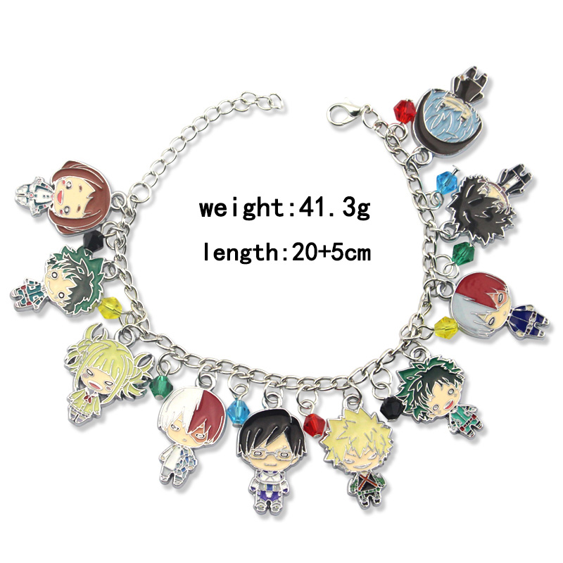 My Hero Academia Todoroki Anime Necklace Jewellery UK Seller!