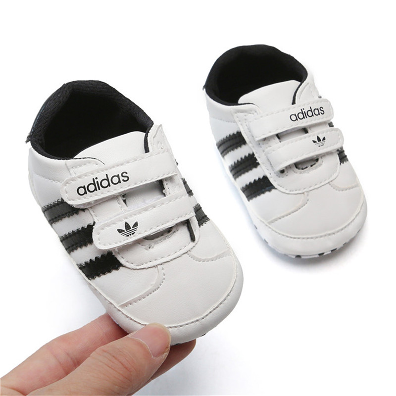 Toddler Baby Shoes Kids Soft Soled PU Leather Sneakers Girls Boys Footwear Prewalker Newborn Infant Girls Non-slip Zapatos Bebe