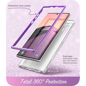 Image 5 - I BLASON For Samsung Galaxy Note 10 Plus Case (2019) Cosmo Full Body Glitter Marble Cover Case WITHOUT Built in Screen Protector