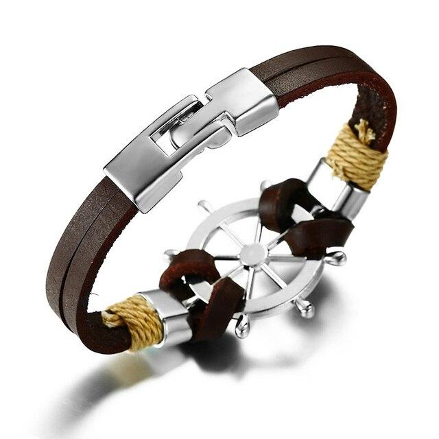 Bracelet rétro gouvernail  3