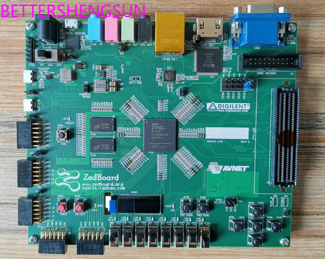 Zedboard ZYNQ FPGA Development Board FMC Connector Compatible with PetaLinux