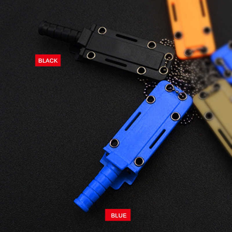 Outdoor Multi-Function Survival Tools Mini Hanging Neck Small Straight Knife High Quality Stainless Steel Hunt Camping Equipment